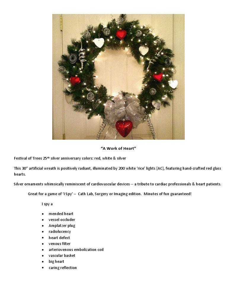 CHD Wreath by MLH of Puget Sound